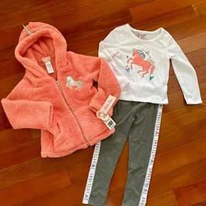Beautiful NWT Unicorn Little Lass 3 Piece Set
